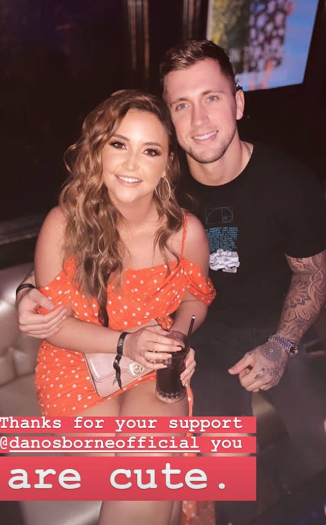 Jacqueline Jossa and Dan Osborne insisted they were loved up the night of her launch party