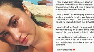 Demi Lovato Instagram Post