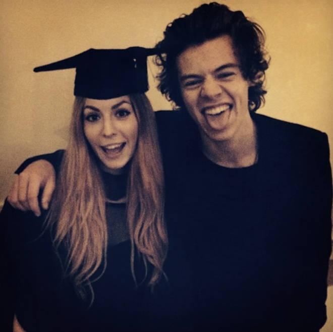 Harry Styles attended Gemma's graduation in Sheffield