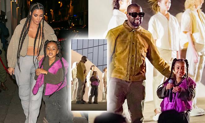 North West rapped at Paris Fashion Week for her dad, Kanye's Yeezy event