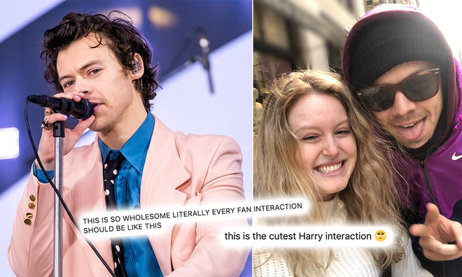 Harry Styles' fan explains the cute interaction she had with the star