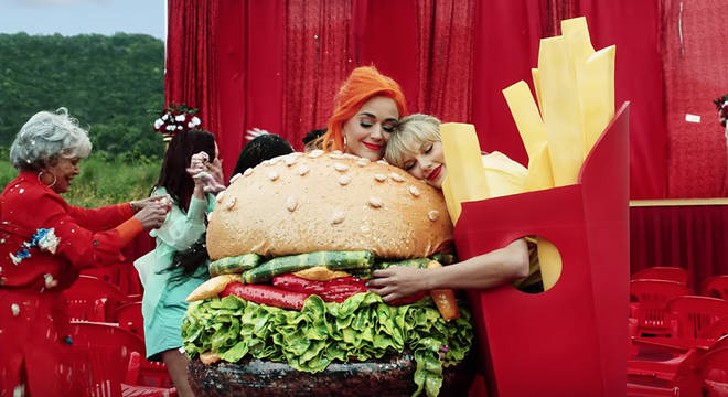 Katy Perry starred in Taylor Swift's 'You Need To Calm Down' video