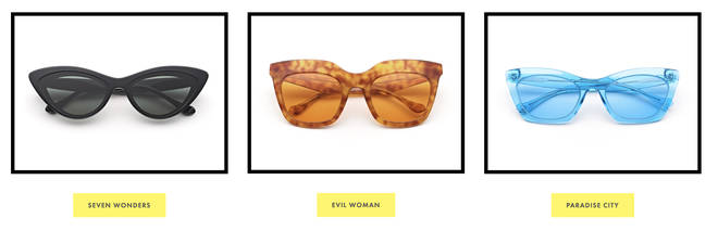 Gemma Styles has a sunglasses collab with Kenmark Eyewear