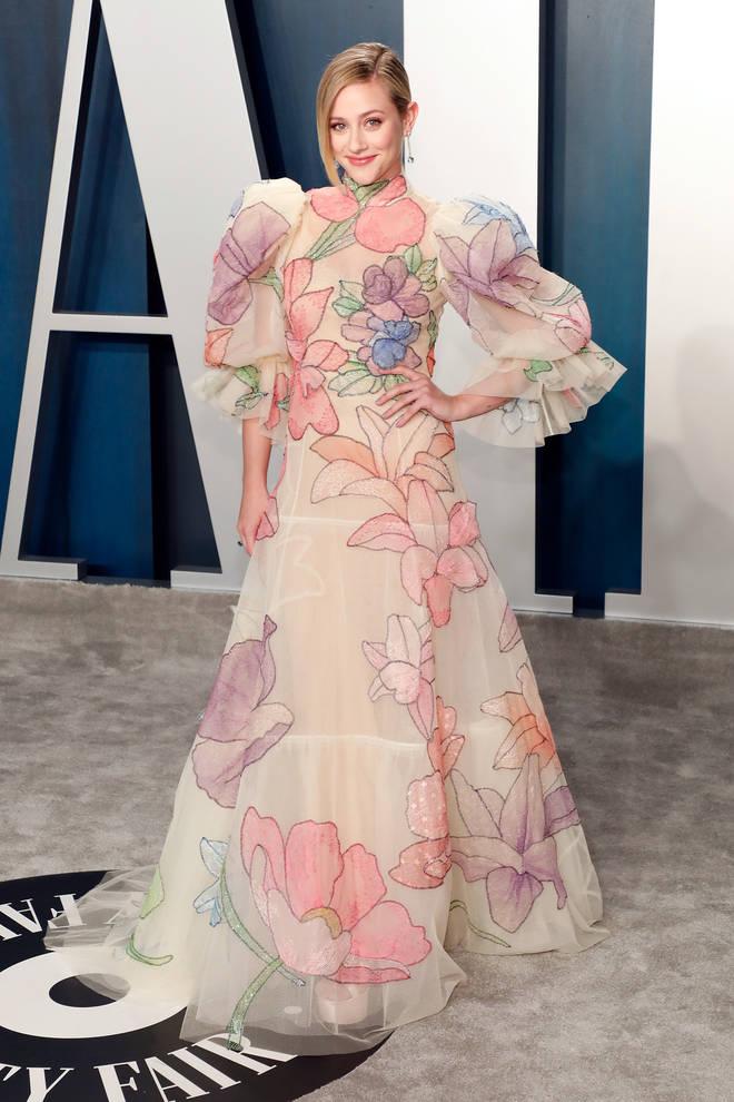 Lili Reinhart at the Vanity Fair Oscar party