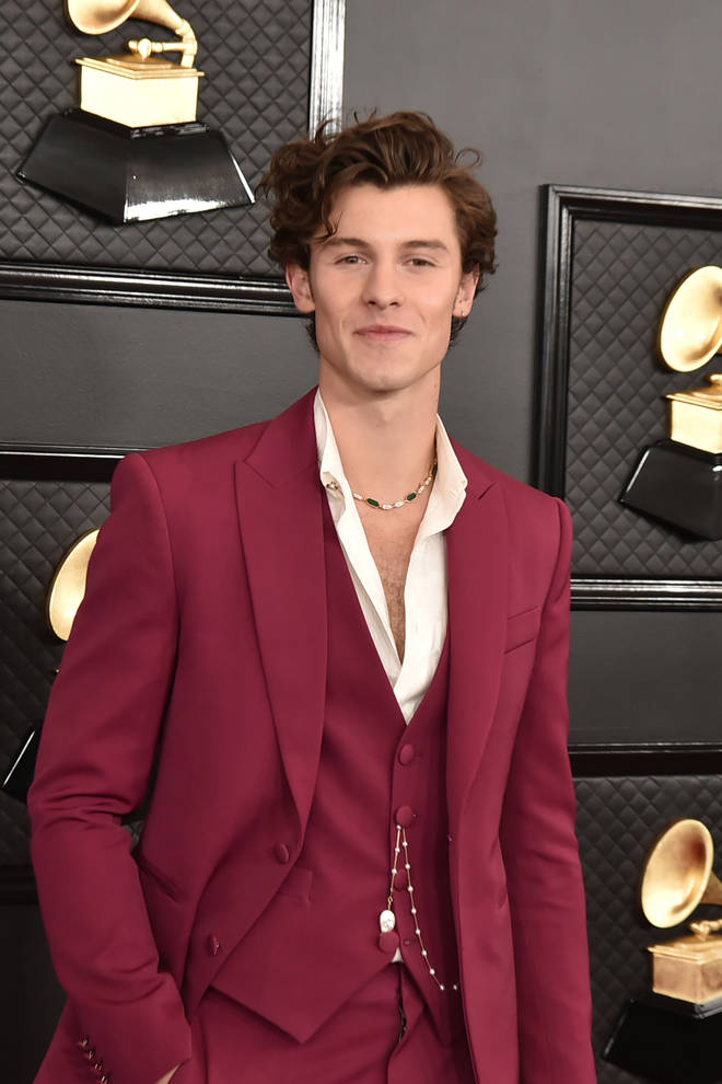 Shawn Mendes typically keeps his look clean-shaven