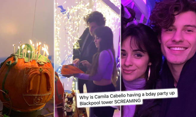 Camilla Cabello and Shawn Mendes partied it up in Blackpool for her 23rd birthday