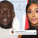 Stormzy and Alexandra Burke spark dating rumours after tour visit