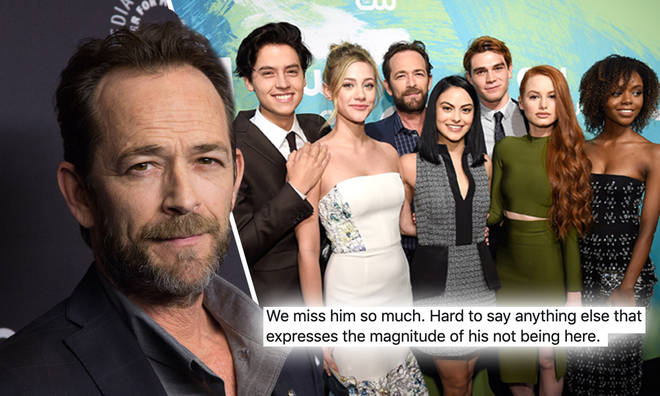 Luke Perry died of a stroke on 4 March 2019