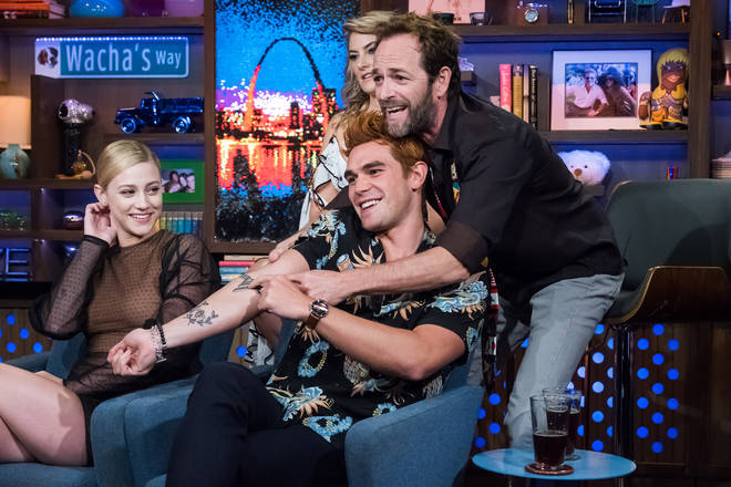 Luke Perry was very close to his Riverdale co-stars