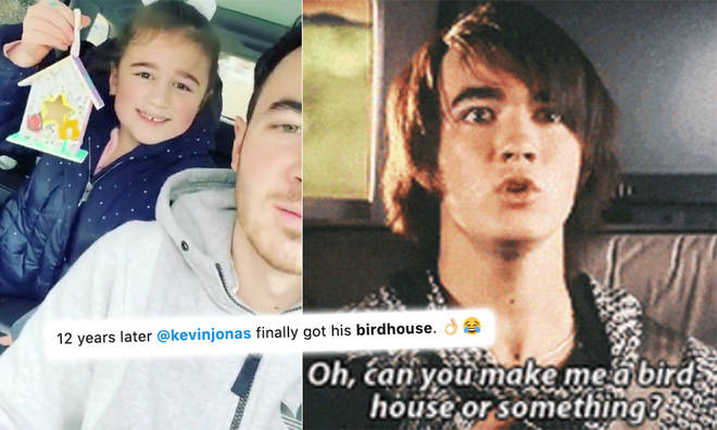 Kevin Jonas' daughter made a Camp Rock joke and didn't even realise