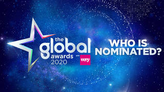Who is nominated at this year's The Global Awards?