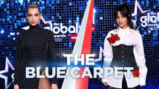 All The Global Awards 2020 blue carpet looks