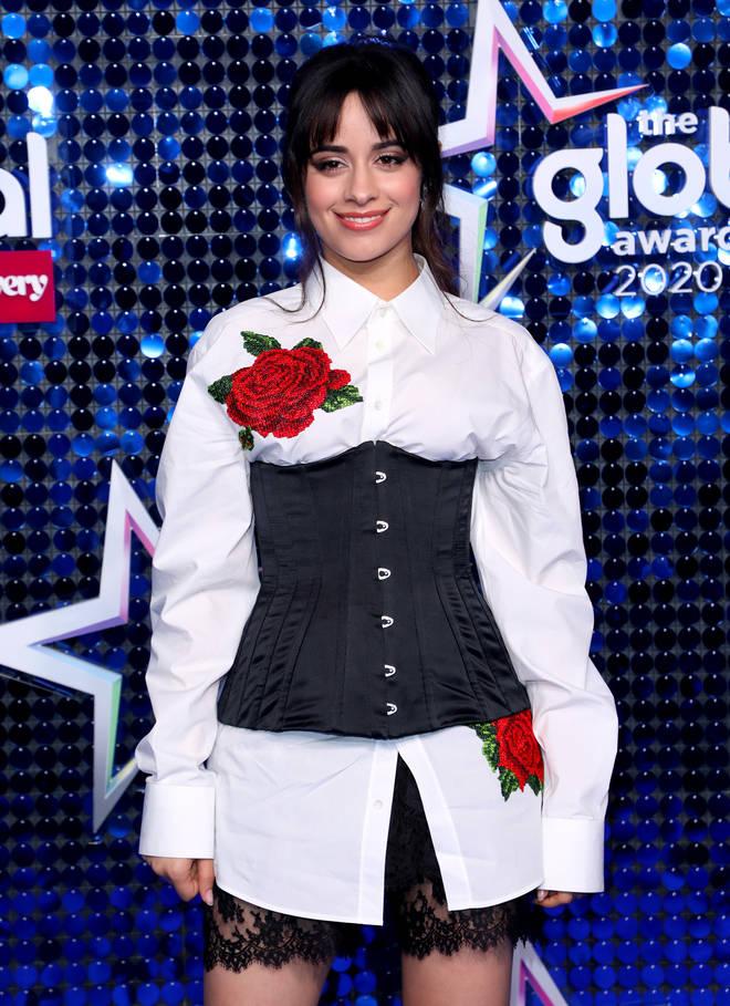 Camila Cabello Global Awards 2020
