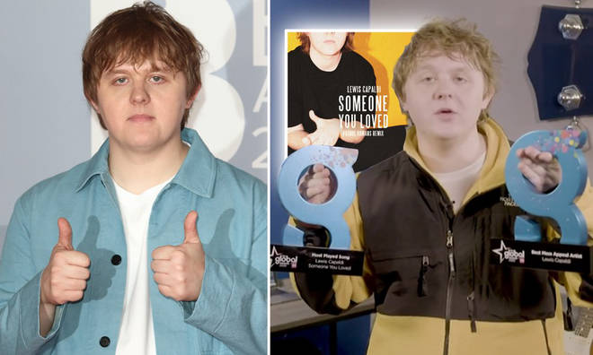 Lewis Capaldi won Best Mass Appeal Artist and Most Played Song
