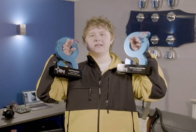 Lewis Capaldi took home two huge awards