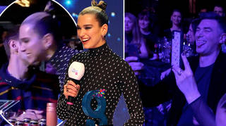 Dua Lipa brought her family to the Global Awards 2020