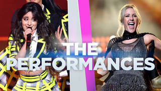 The performances at the Global Awards 2020