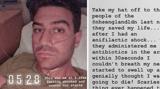 Jon Clark shared his scary experience with his followers