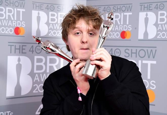 Lewis Capaldi BRIT Awards