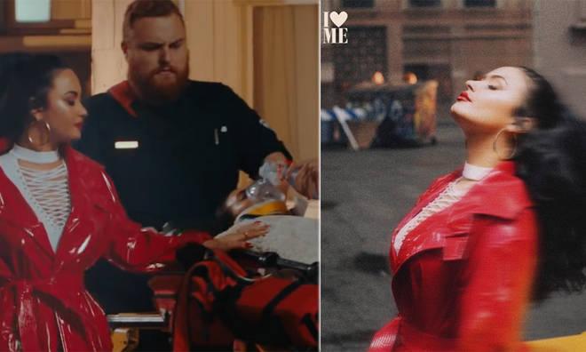 Demi Lovato had multiple Easter eggs in her 'I Love Me' music video