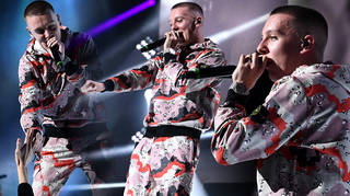 Aitch lit up the stage at the Global Awards