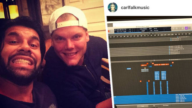 Carl Falk has been working on Avicii's unreleased tracks.