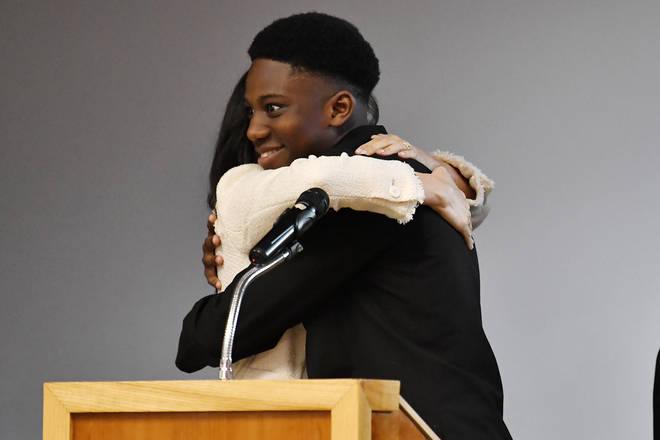 Aker Okoye called the Duchess of Sussex 'very beautiful'