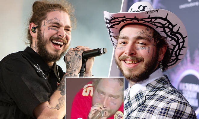 Post Malone reassures fans he's 'fantastic' after 'worrying' concert videos