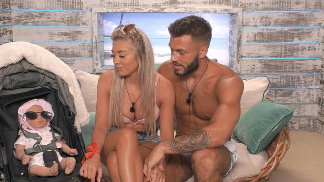 Paige Turley and Finn Tapp trialled being parents on Love Island