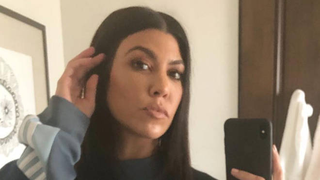 Kourtney Kardashian mirror selfie