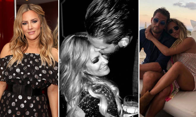 Lewis Burton and Caroline Flack dated from summer 2019