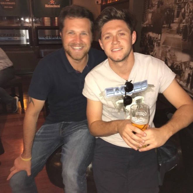 Niall Horan is godfather to Greg's son, Theo