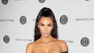 Kim Kardashian on the red carpet