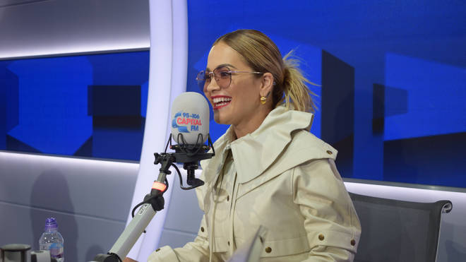 Rita Ora joined Capital Breakfast with Roman Kemp