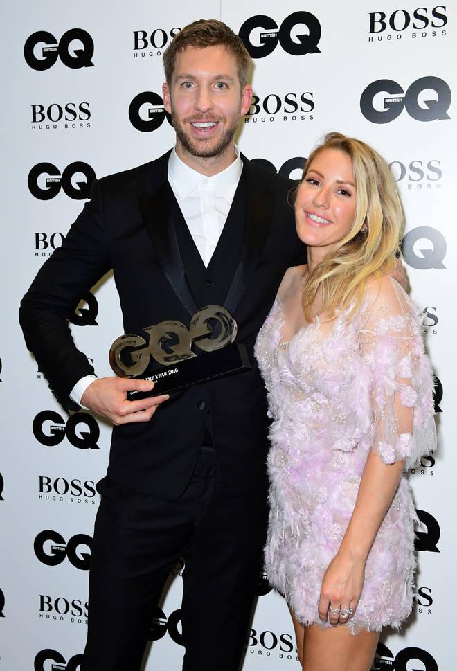 Ellie Goulding shut down rumours she had a romance with Calvin Harris