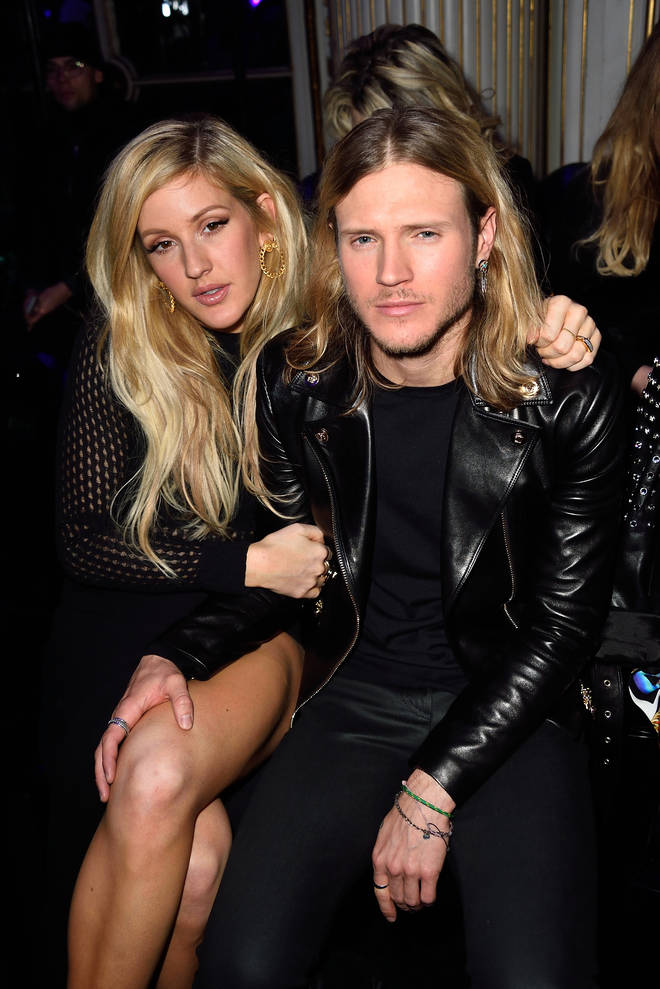 Ellie Goulding and Dougie Poynter had a long-term relationship