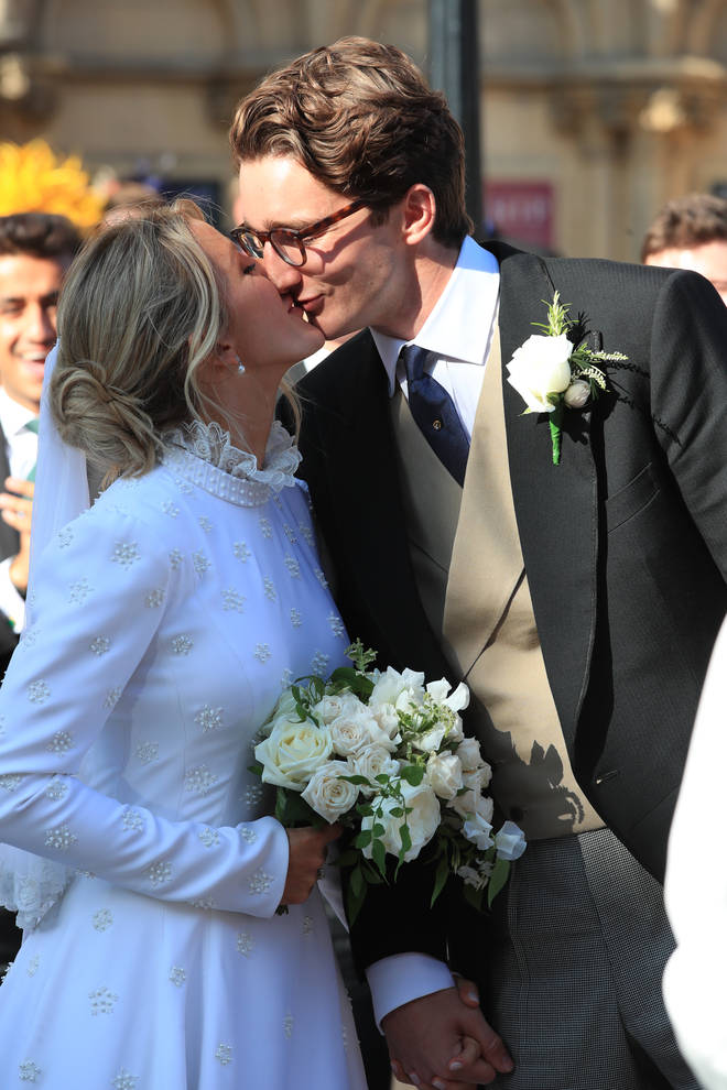 Ellie Goulding tied the knot to Caspar Jopling last year