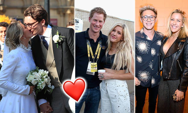 Ellie Goulding has dated some big names