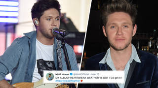 Niall Horan encouraging fans to stream and buy 'Heartbreak Weather'