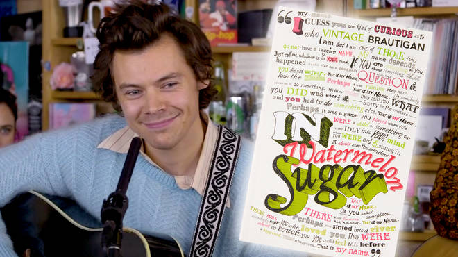 Harry Styles reveals the book that inspired the name 'Watermelon Sugar'
