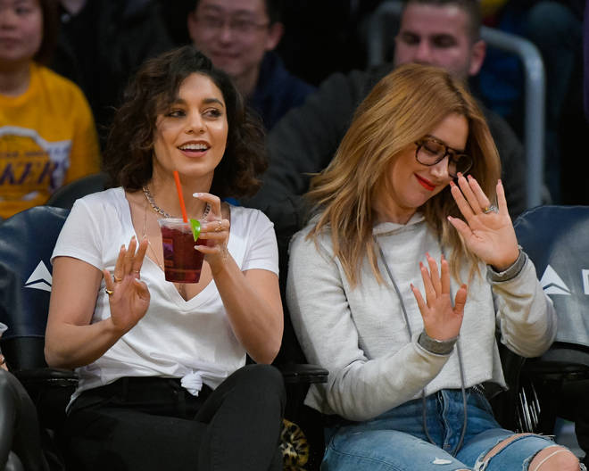 Ashley Tisdale and Vanessa Hudgens starred alongside each other in High School Musical