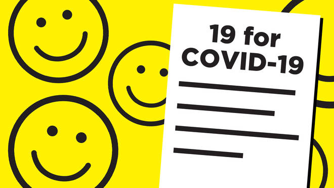 People are making '19 for COVID-19' lists