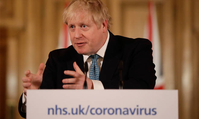 Boris Johnson made the comments during a conference.