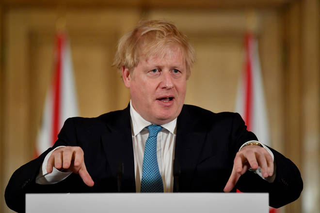 British Prime Minister Gives Daily Address To The Nation On Coronavirus