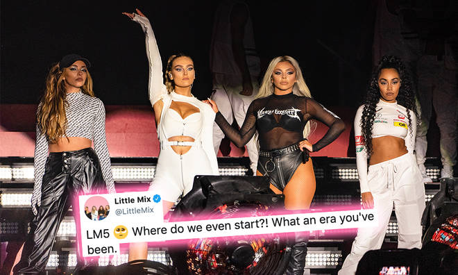 Little Mix reflected on their LM5 moments