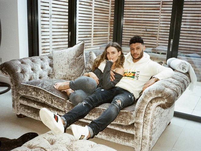 Perrie Edwards and Alex Oxlade-Chamberlain have a stunning home