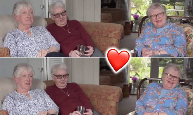 Three elderly pals have warmed the nation's hearts after going viral