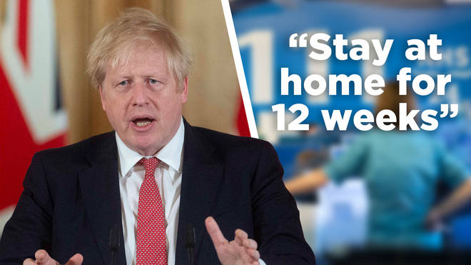 1.5 million people are to be told to stay at home for 12 weeks
