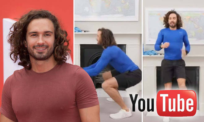 Joe Wicks is leading P.E lessons every day Monday to Friday
