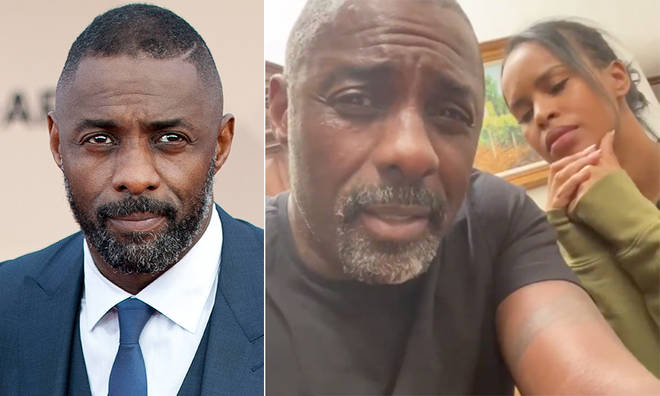 Idris Elba has responded to 'stupid' rumours that he was paid to lie about his coronavirus diagnosis